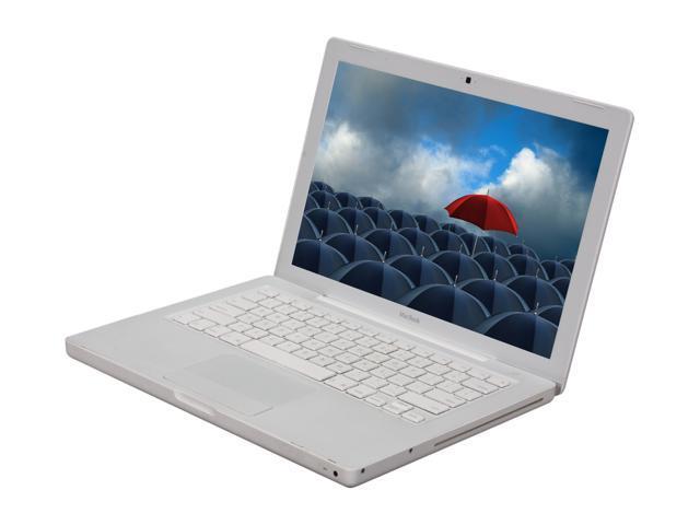 Apple Laptop MacBook MA699LL/A Intel Core 2 Duo 1.83 GHz 512 MB Memory 60 GB HDD Intel GMA950 13.3