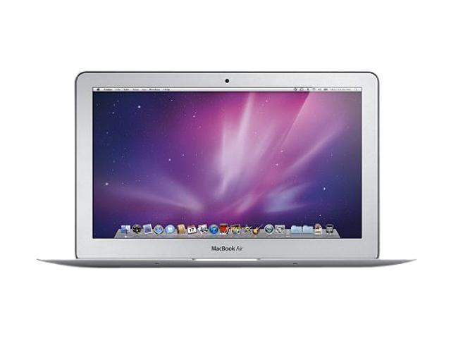 "Apple B Grade Laptop MacBook Air MC505LL/A Intel Core 2 Duo 1.40 GHz 2 GB Memory 64 GB HDD NVIDIA GeForce 320M 11.6"" Mac ..."
