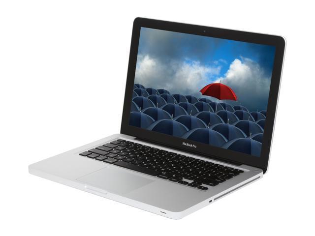 "Apple Laptop MacBook Pro MD102LL/A Intel Core i7 2.9 GHz 8 GB Memory 750 GB HDD Intel HD Graphics 4000 13.3"" Mac OS X v10.7 ..."