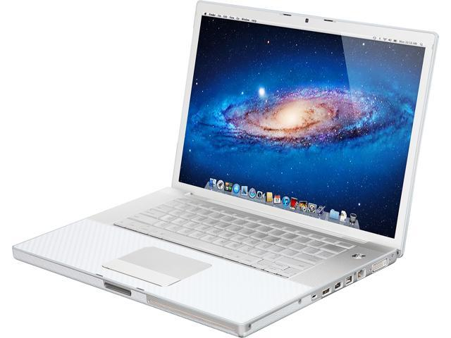 Apple Laptop MacBook Pro MA895LL/AR Intel Core 2 Duo T7500 (2.20 GHz) 2 GB Memory 120 GB HDD NVIDIA GeForce 8600M GT 15.4