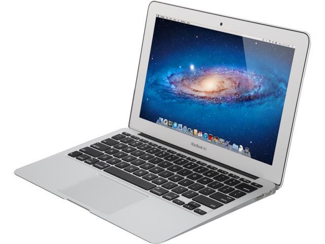 Open Box: Apple Grade C Laptop MacBook Air MD711LL/B Intel Core i5 4th Gen 4260U (1.40 GHz) 4 GB ...
