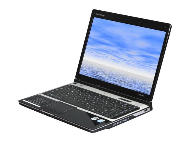 "Gateway Laptop T-6345U Intel Pentium dual-core T3400 (2.16 GHz) 2 GB Memory 250 GB HDD Intel GMA X3100 14.1"" Windows Vista ..."