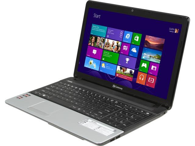 Gateway Laptop NE51B16u AMD Dual-Core Processor E2-1800 (1.7 GHz) 4 GB Memory 500 GB HDD AMD Radeon HD 7340 15.6