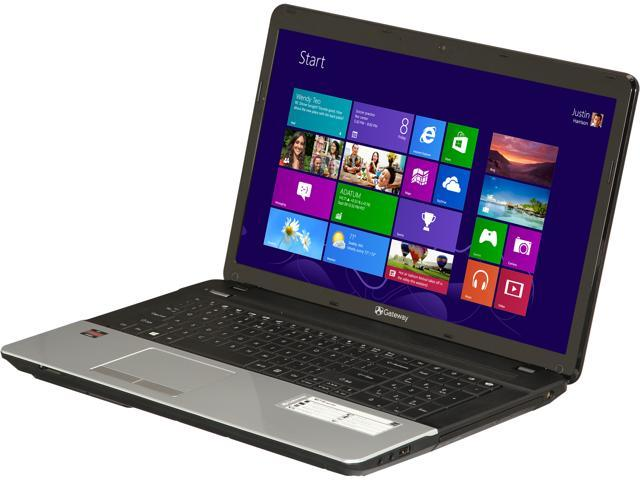 Gateway Laptop NE71B06u AMD Dual-Core Processor E1-1200 (1.4 GHz) 4 GB Memory 500 GB HDD AMD Radeon HD 7310 17.3