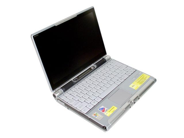 Fujitsu Laptop LifeBook P5020 Intel Pentium M 1.00 GHz 512 MB Memory 60 GB HDD Intel Extreme Graphics 2 10.6