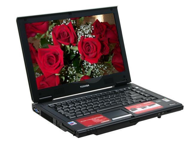 TOSHIBA Laptop TECRA A5 Intel Pentium M 740 (1.73 GHz) 256 MB Memory 40 GB HDD Intel GMA900 14.0