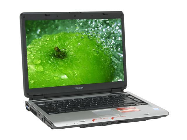 TOSHIBA Laptop Satellite A135-S4527 Intel Pentium dual-core T2080 (1.73 GHz) 1 GB Memory 120 GB HDD Intel GMA950 15.4