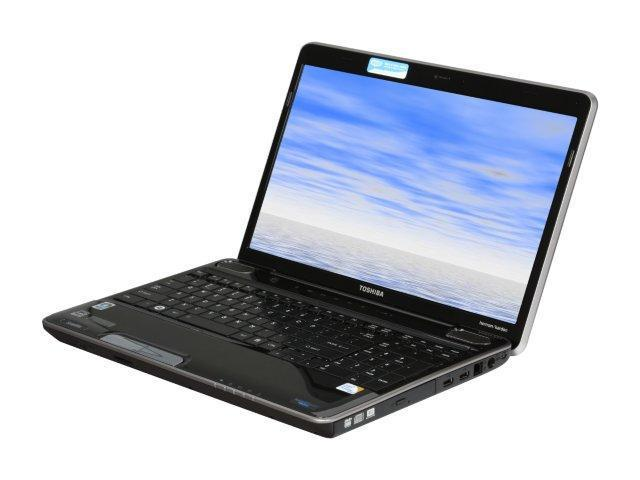 TOSHIBA Laptop Satellite A505-S6969 Intel Core 2 Duo T6500 (2.10 GHz) 4 GB Memory 250 GB HDD ATI Mobility Radeon HD 4650 ...
