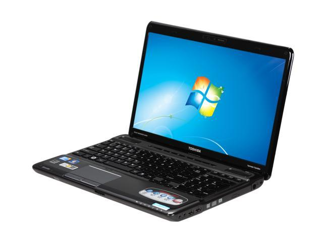 TOSHIBA Laptop Satellite A665-S6065 Intel Core i7 720QM (1.60 GHz) 4 GB Memory 500 GB HDD NVIDIA GeForce GT 330M 16.0