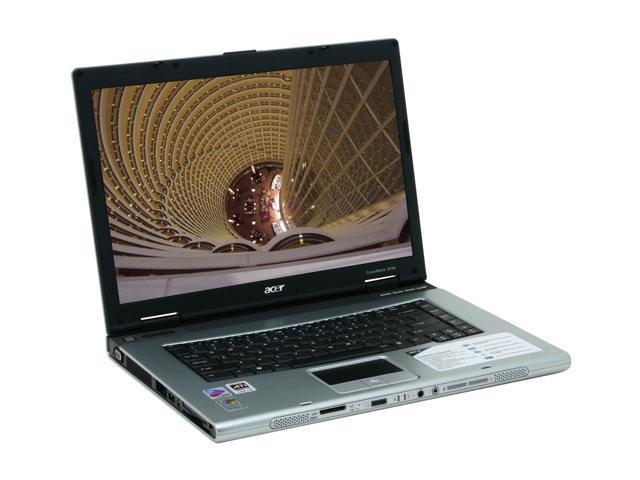 "Acer Laptop TravelMate TM8103WLMi-XPP Intel Pentium M 750 (1.86 GHz) 512 MB Memory 100 GB HDD ATI Mobility Radeon X700 15.4"" ..."