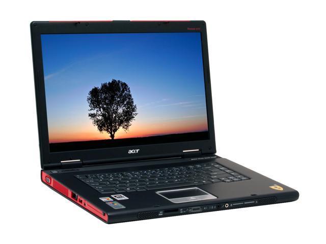 Acer Laptop Ferrari 4006WLMi AMD Turion 64 ML-40 (2.20 GHz) 1 GB Memory 100 GB HDD ATI Mobility Radeon X700 15.4