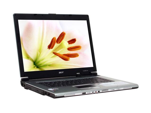 Acer Laptop TravelMate TM4674WLMi Intel Core Duo T2500 (2.00 GHz) 2 GB Memory 120 GB HDD ATI Mobility Radeon X1400 15.4