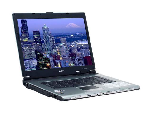 Acer Laptop TravelMate TM4674WLMi-ATI X1600 Intel Core Duo T2500 (2.00 GHz) 2 GB Memory 120 GB HDD ATI Mobility Radeon X1600 ...