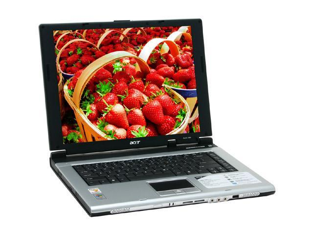 Acer Laptop Aspire AS5002LMi-XPP AMD Turion 64 ML-30 (1.60 GHz) 512 MB Memory 80 GB HDD SiS Mirage 2 15.0