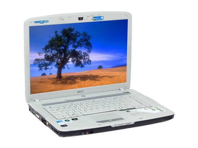 Acer Laptop Aspire AS5720-6113 Intel Core 2 Duo T5250 (1.50 GHz) 1 GB Memory 250 GB HDD NVIDIA GeForce 8400M GS 15.4