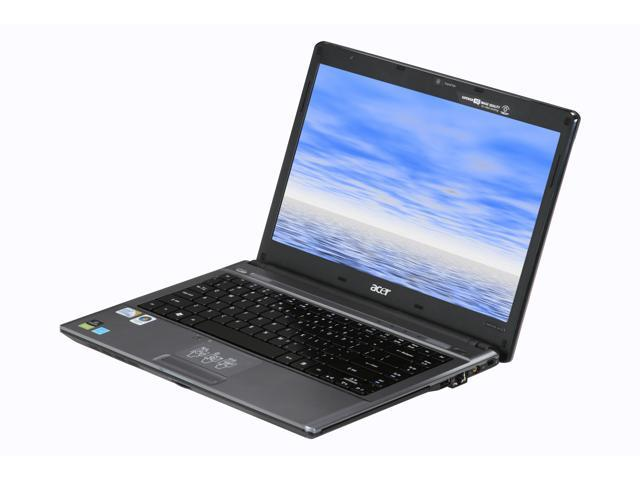 Acer Laptop Aspire Timeline AS4810T-8480 Intel Core 2 Solo SU3500 (1.40 GHz) 4 GB Memory 320 GB HDD Intel GMA 4500MHD 14.0