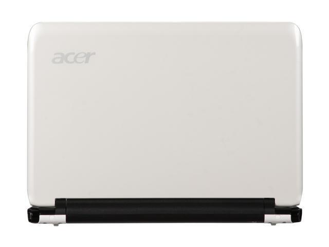 """Acer Aspire One AO751h-1401 White 11.6"""" WXGA Netbook"""