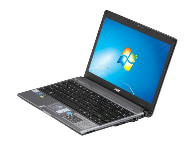 Acer Laptop Aspire Timeline AS3810T-8737 Intel Core 2 Duo SU7300 (1.30 GHz) 4 GB Memory 500 GB HDD Intel GMA 4500MHD 13.3