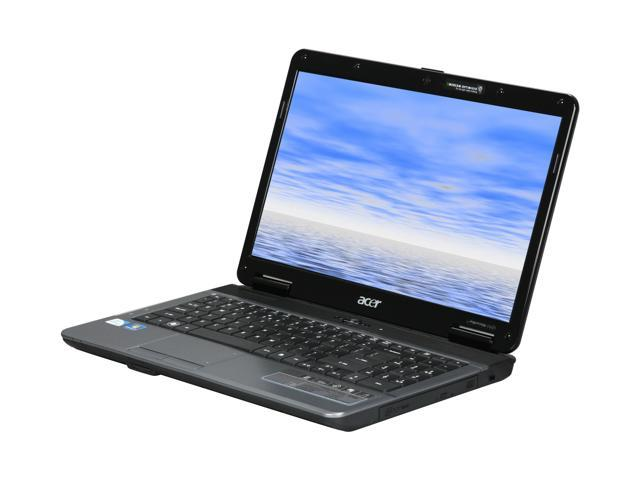 "Acer Laptop Aspire AS5732Z-4510 Intel Pentium dual-core T4300 (2.10 GHz) 2 GB Memory 160 GB HDD Intel GMA 4500M 15.6"" Windows ..."