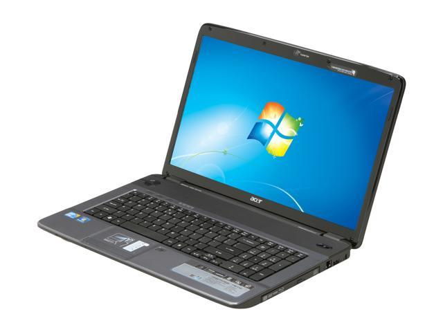 "Acer Laptop Aspire AS7740-5142 Intel Core i3 330M (2.13 GHz) 4 GB Memory 500 GB HDD Intel HD Graphics 17.3"" Windows 7 Home ..."
