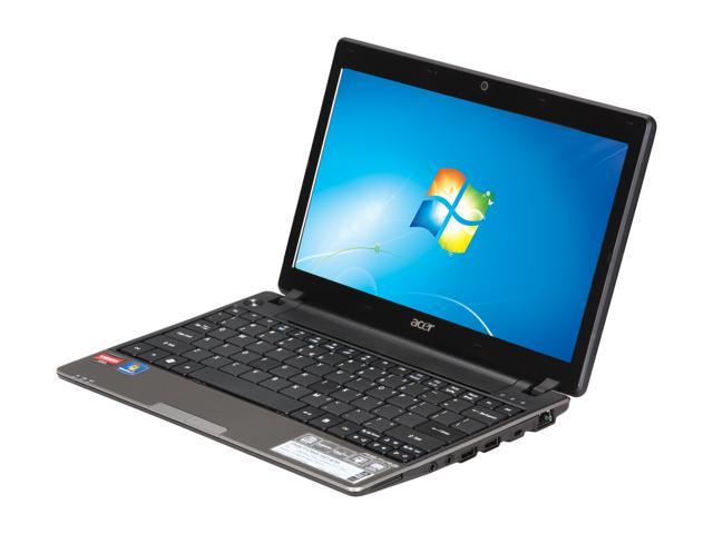 Acer Laptop Aspire AS1551-4755 AMD Athlon II Neo Dual-Core K325 (1.30 GHz) 3 GB Memory 250 GB HDD ATI Radeon HD 4225 11.6