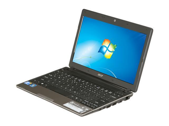 Acer Laptop Aspire AS1430-4857 Intel Core i5 1st Gen 520UM (1.06 GHz) 4 GB Memory 320 GB HDD Intel HD Graphics 11.6