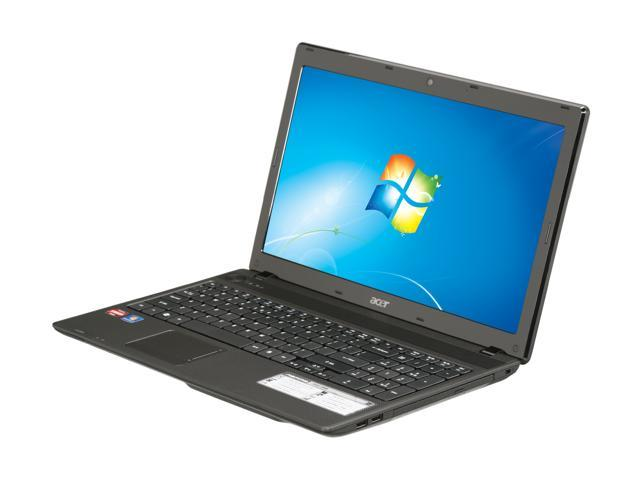 Acer Laptop Aspire AS5552-5898 AMD Phenom II Triple-Core N830 (2.1 GHz) 4 GB Memory 500 GB HDD ATI Radeon HD 4250 15.6