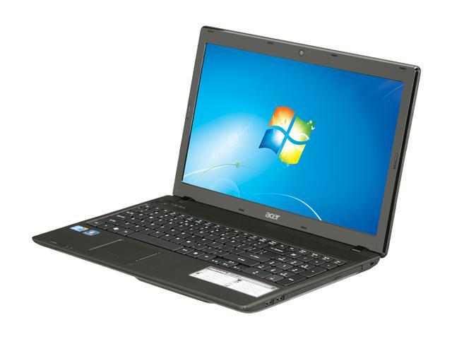 """Acer Laptop Aspire AS5742-6814 Intel Core i3 380M (2.53 GHz) 4 GB Memory 320 GB HDD Intel HD Graphics 15.6"""" Windows 7 Home ..."""