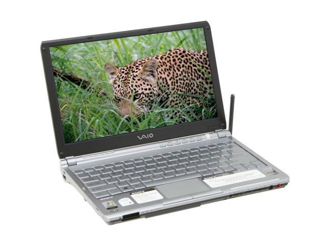 "SONY Laptop VAIO TX Series VGN-TXN15P/B Intel Core Solo U1400 (1.20 GHz) 1 GB Memory 80 GB HDD Intel GMA950 11.1"" Windows ..."