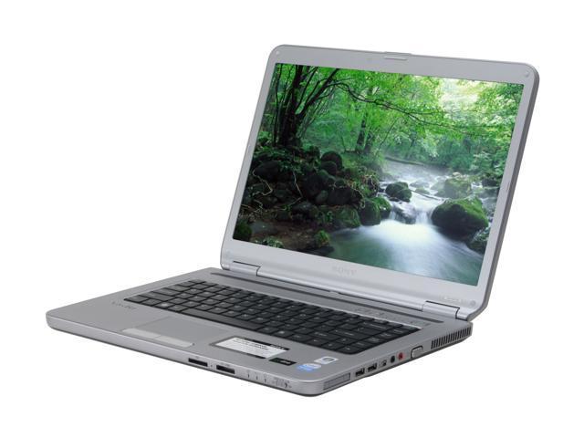 """SONY VAIO NR Series PCW-VGNNR120E/S-R 15.4"""" Windows Vista Home Premium Laptop"""