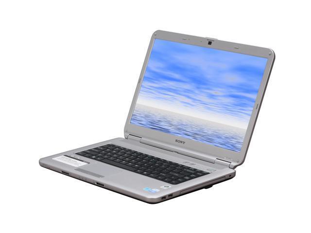 SONY Laptop VAIO NS Series VGN-NS235J/S Intel Pentium dual-core T3400 (2.16 GHz) 4 GB Memory 250 GB HDD Intel GMA 4500MHD 15.4