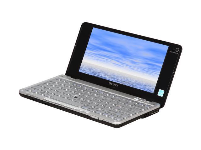 SONY VAIO P Series VGN-P698E/Q Onyx Black Intel Atom Z530(1.60 GHz) 8