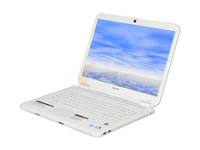 SONY Laptop VAIO NS Series VGN-NS325J/W Intel Pentium dual-core T4200 (2.00 GHz) 3 GB Memory 250 GB HDD Intel GMA 4500M 15.4