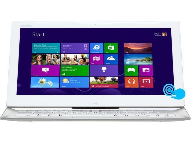 "SONY VAIO D Series SVD13213CXW Intel Core i5 4 GB Memory 128 GB SSD 13.3"" Touchscreen Ultrabook Windows 8 64-Bit"