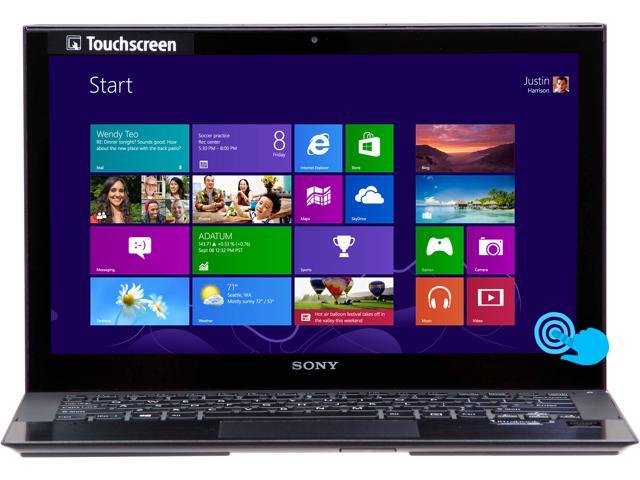 "SONY VAIO P Series SVP11213CXB Intel Core i5 4 GB Memory 128 GB SSD 11.6"" Touchscreen Ultrabook Windows 8 64-Bit"