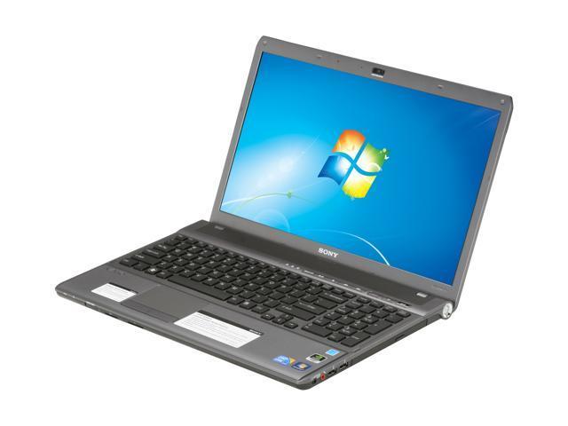 "SONY VPCF11NFX/B 16.4"" Windows 7 Home Premium 64-bit Laptop"