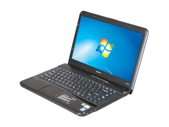 SONY Laptop VAIO EA Series VPCEA3AFX/BJ Intel Pentium dual-core P6100 (2.00 GHz) 4 GB Memory 320 GB HDD Intel HD Graphics 14.0
