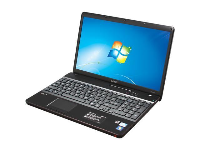 SONY Laptop VAIO E Series VPCEB3AFX/BJ Intel Pentium dual-core P6100 (2.00 GHz) 4 GB Memory 320 GB HDD Intel HD Graphics 15.5