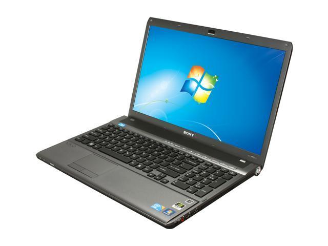 "SONY Laptop VAIO F Series VPCF137FX/B Intel Core i7 740QM (1.73 GHz) 6 GB Memory 500 GB HDD NVIDIA GeForce GT 425M 16.4"" ..."