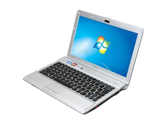 SONY Laptop VAIO YB Series VPCYB15KX/S AMD Dual-Core Processor E-350 (1.6 GHz) 4 GB Memory 500 GB HDD AMD Radeon HD 6310 11.6