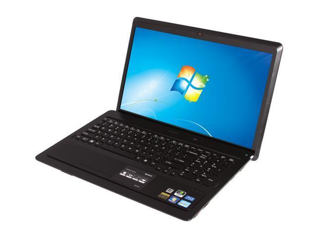 SONY Laptop VAIO F Series VPCF234FX/B Intel Core i7 2670QM (2.20 GHz) 6 GB Memory 640GB HDD NVIDIA GeForce GT 540M 16.4