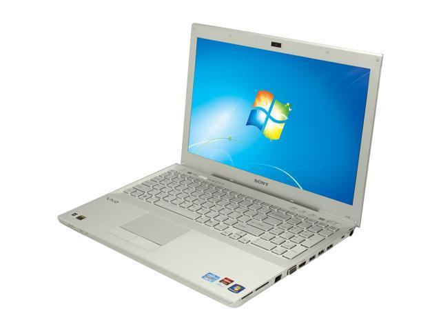 "SONY Laptop VAIO SE Series VPCSE23FX/S Intel Core i5 2450M (2.50 GHz) 4 GB Memory 640GB HDD AMD Radeon HD 6470M 15.5"" Windows ..."