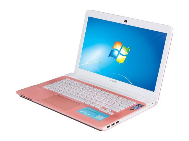 SONY Laptop VAIO SVE14116FXP Intel Core i5 2450M (2.50 GHz) 6 GB Memory 750 GB HDD Intel HD Graphics 3000 14.0