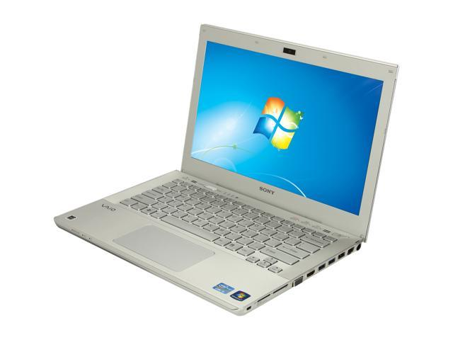 "SONY Laptop VAIO SVS13112FXS Intel Core i5 3210M (2.50 GHz) 6 GB Memory 640GB HDD Intel HD Graphics 4000 13.3"" Windows 7 ..."