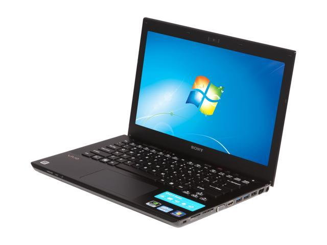 SONY Laptop VAIO SVS13A12FXB Intel Core i5 3rd Gen 3210M (2.50 GHz) 6 GB Memory 640GB HDD NVIDIA GeForce GT 640M LE 13.3