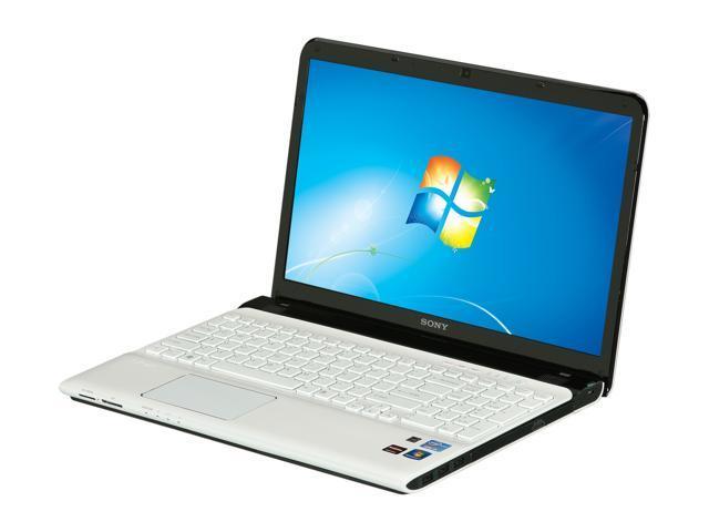 SONY Laptop VAIO SVE1511KFXW Intel Core i5 2450M (2.50 GHz) 4 GB Memory 500 GB HDD AMD Radeon HD 7550M 15.5