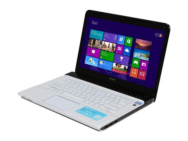 "SONY Laptop VAIO E Series SVE1412CCXW Intel Core i5 3210M (2.50 GHz) 4 GB Memory 500 GB HDD AMD Radeon HD 7550M 14.0"" Windows ..."