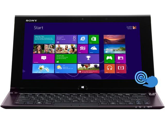 "SONY VAIO SVD11223CXB Intel Core i5 6 GB Memory 128 GB SSD 11.6"" Touchscreen Ultrabook Windows 8 64-Bit"