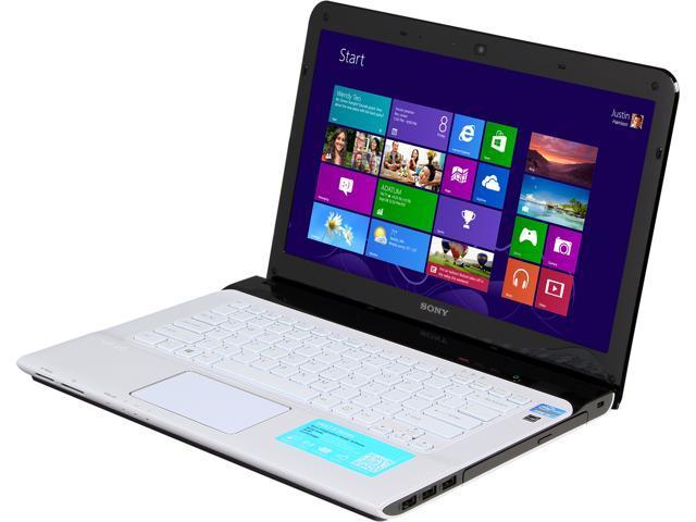 SONY Laptop VAIO E Series SVE14135CXW Intel Core i5 3230M (2.60 GHz) 6 GB Memory 1 TB HDD Intel HD Graphics 4000 14.0