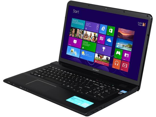 "SONY VAIO E Series SVE17135CXB 17.3"" Windows 8 64-Bit Laptop"